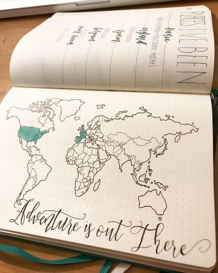 19 Reisejournal-Layouts, mit denen Sie sagen: «Warum habe ich nicht an d …,  #…