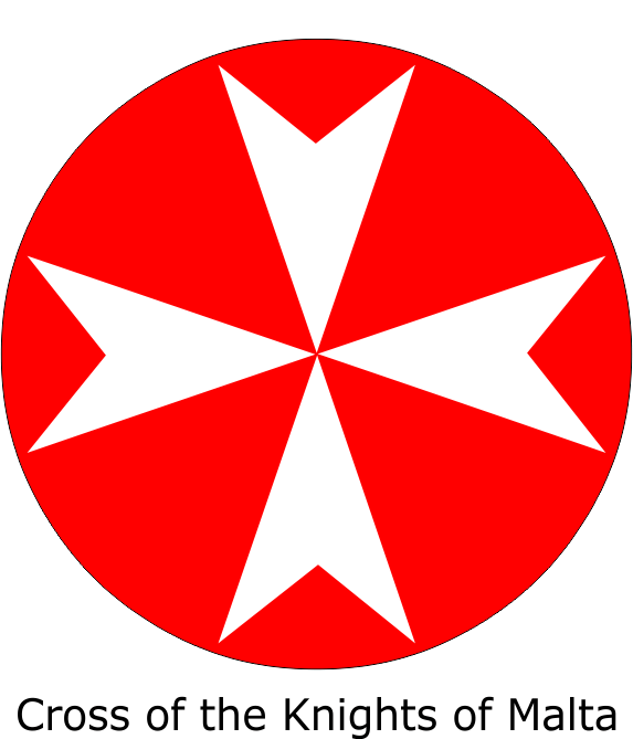 The Maltese Cross In Italy Also Known As The Amalfi Cross Is The