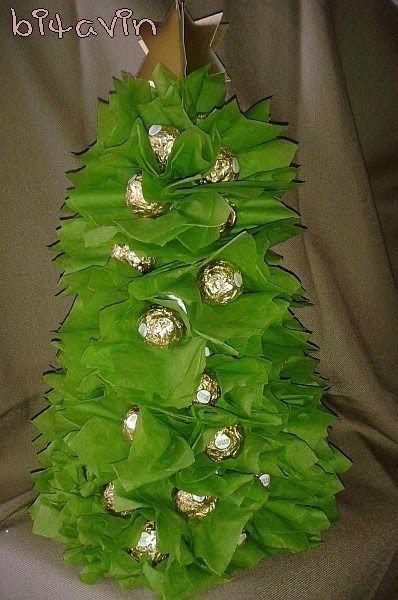 bitavin's Bastel-Blog: Süßer Weihnachtsbaum (Rocher)