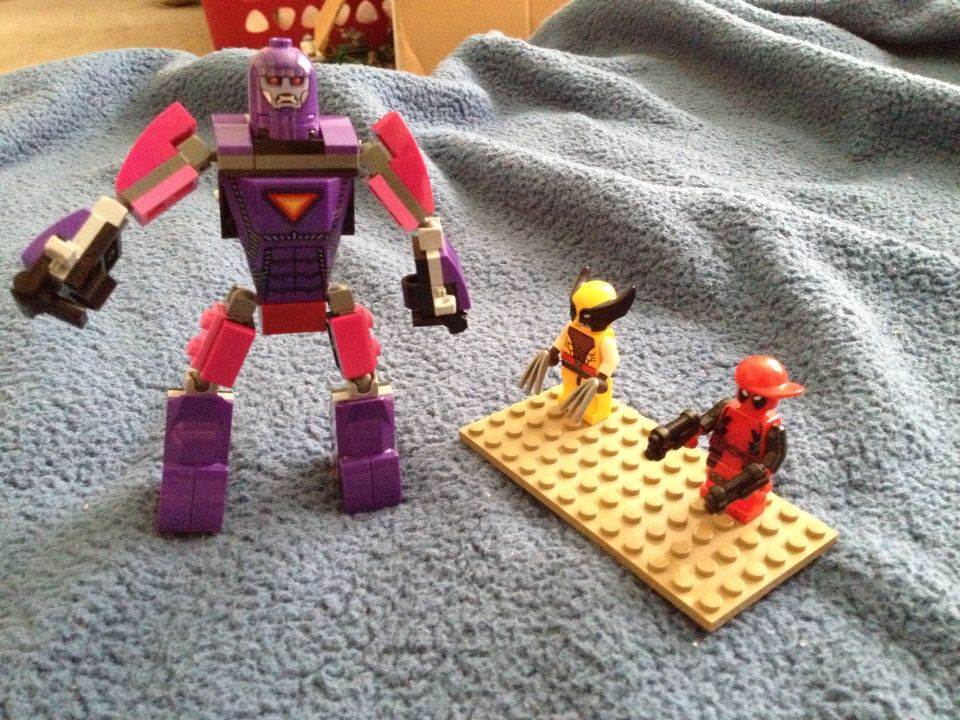 Sentinel, Wolverine & Deadpool