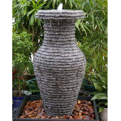 Carved Vase Granite Fountain