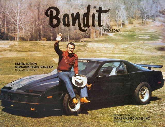 1982 Pontiac Firebird Trans Am Bandit Edition