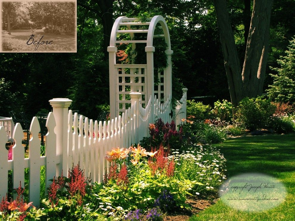 perennial planting design in new jersey traditional landscape newark summerset gardens - Garden Design Jersey