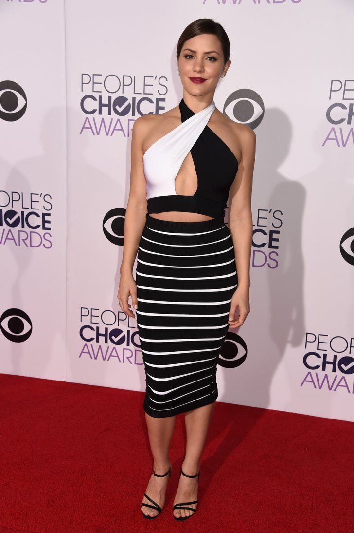 Pin for Later: See All the Stars on the People's Choice Awards Red Carpet! Katharine McPhee