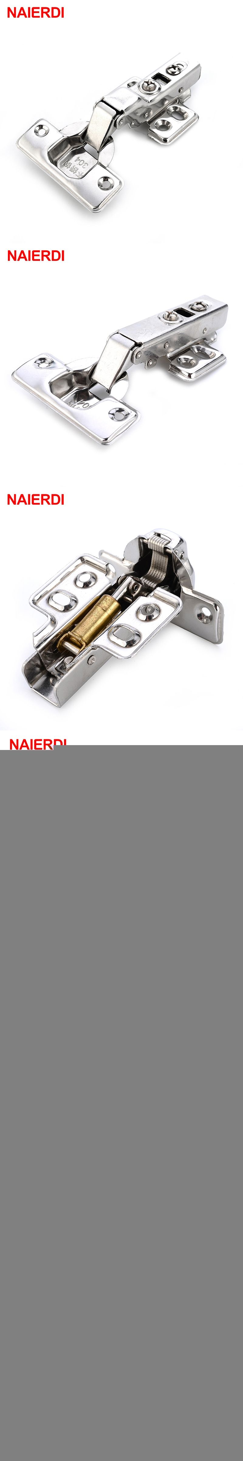 NAIERDI C Series Hinge Stainless Steel Door Hydraulic Hinges Damper