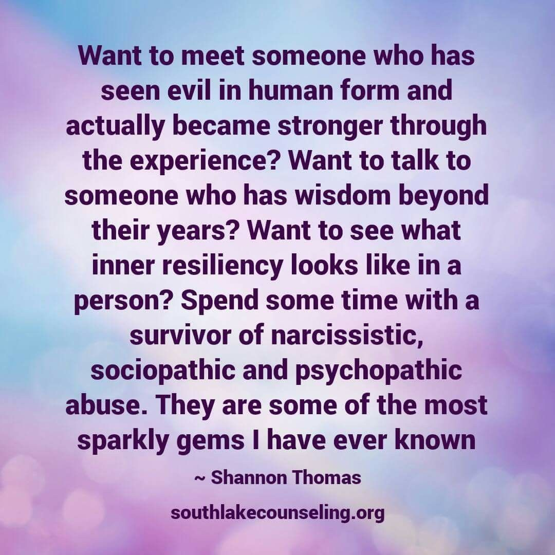 Yup, me...not him.  He lied about all his past abuse.  He's always been the abuser...the bully.
