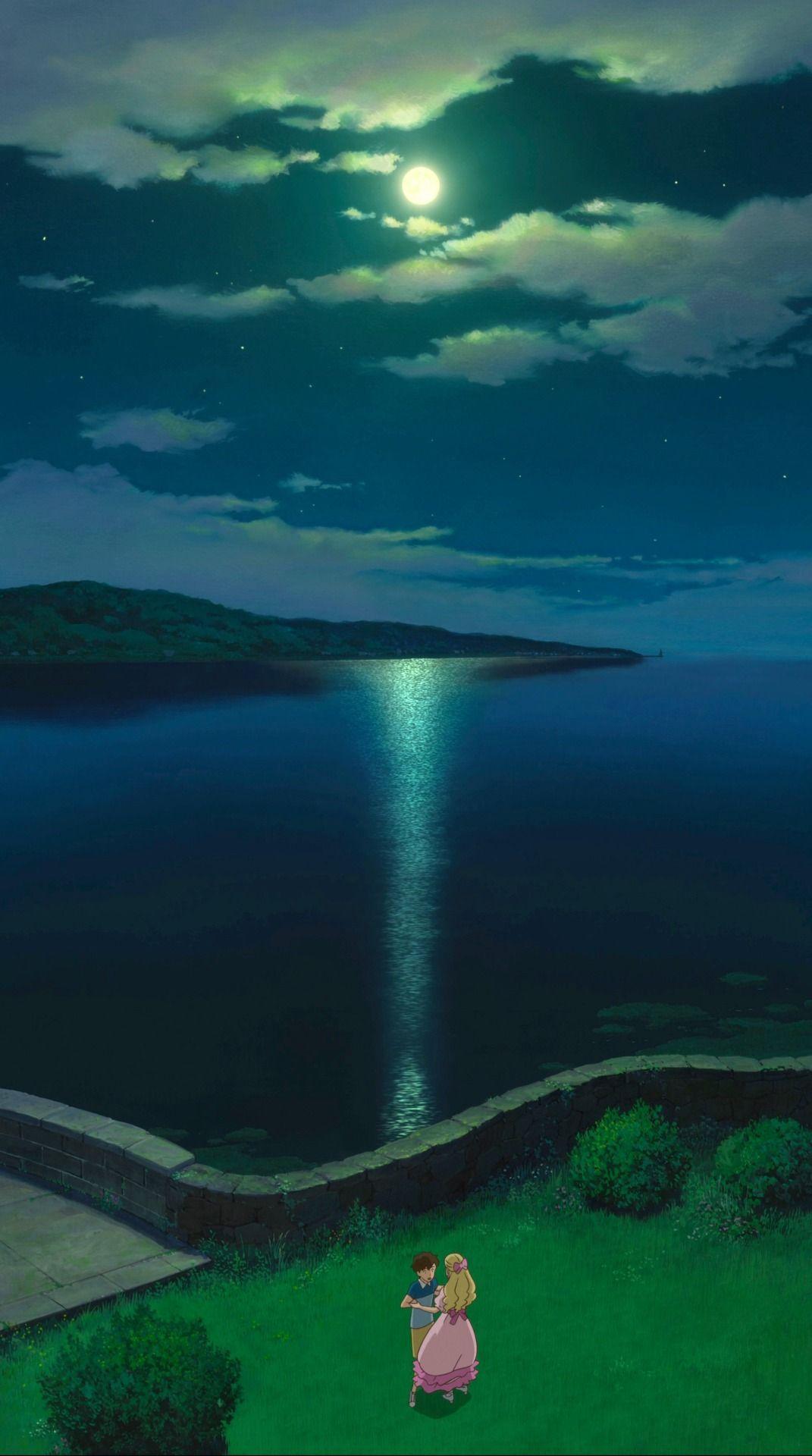 Studio Ghibli — When Marnie Was There Vertical Pans - Dir Hiromasa...