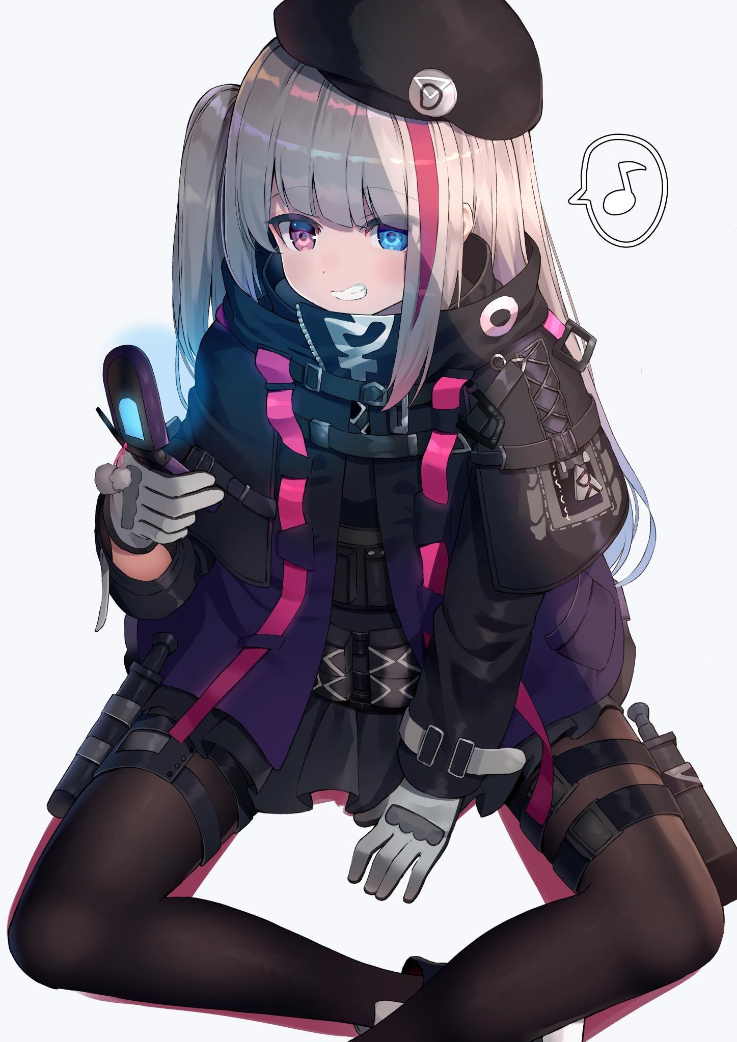 OPEN) on in 2019 Girls frontline, Anime