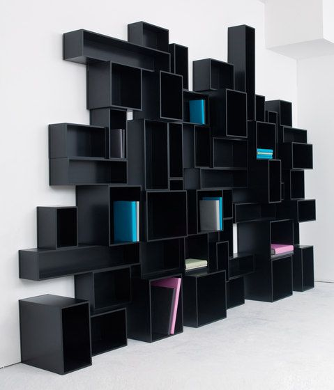 Shelving systems   Storage-Shelving   Cubit shelving system. Check it on Architonic