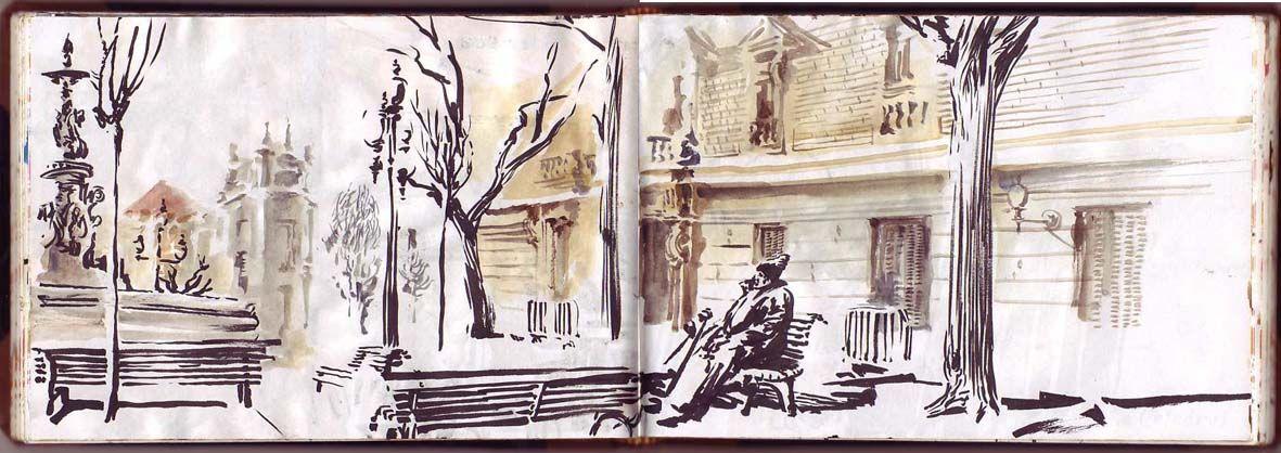 João Catarino, desenhos do dia