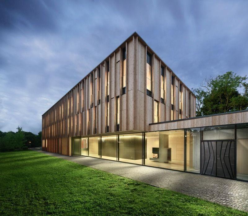 Architekten In Mainz holz fassade bischöfliches jugendamt don bosco mainz angela