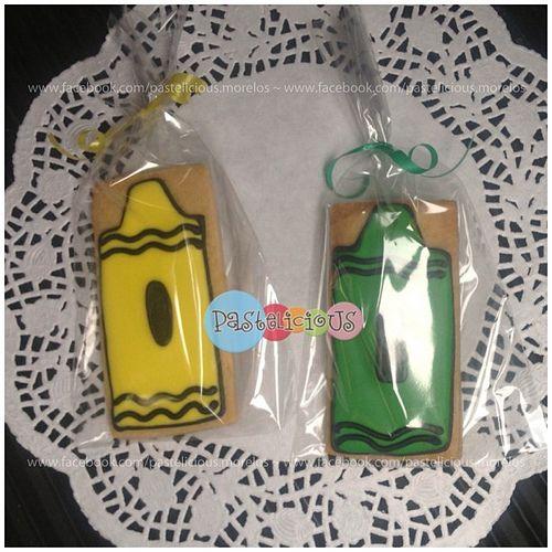 #pastelicious #cookies #crayon #galletas