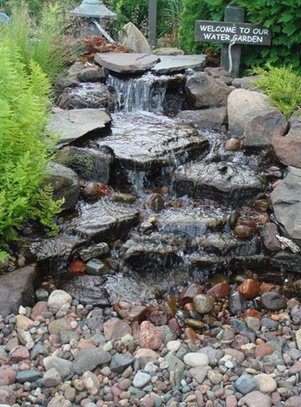 10 Clever And Cheap Indoor Garden Ideas Waterfalls Backyard Water Features In The Garden Pond Landscaping
