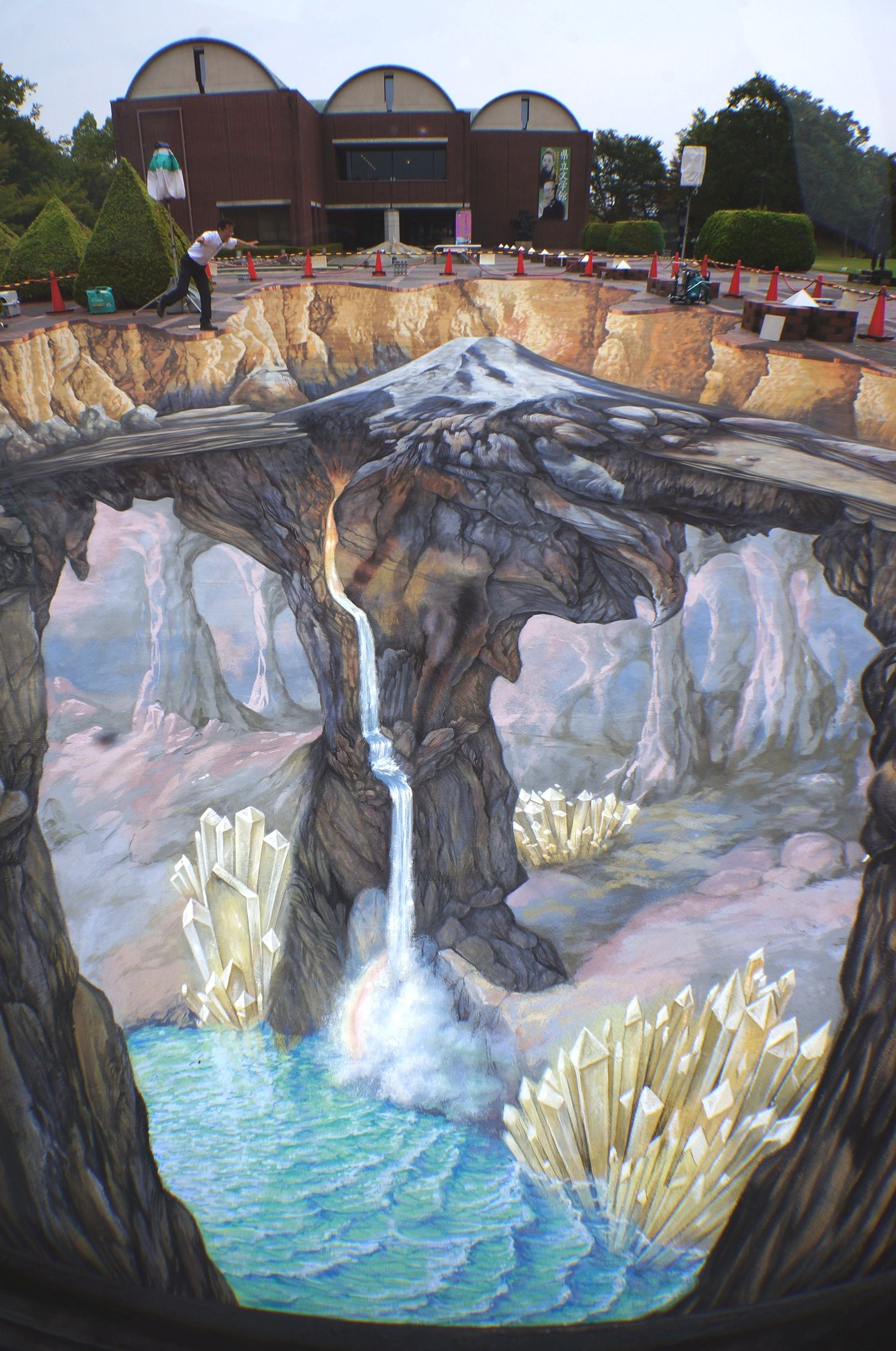 3D Art The Yamanashi Prefectural Museum of Art By Edgar