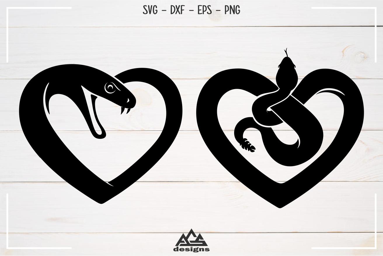Love Heart SNAKE Svg Design Love heart, Design, Wedding