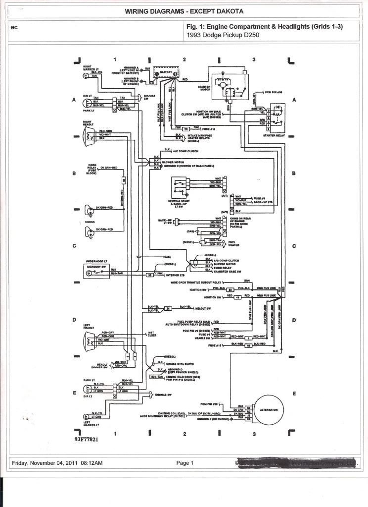 2001 Chrysler Sebring Radio Wiring Diagram Schematic