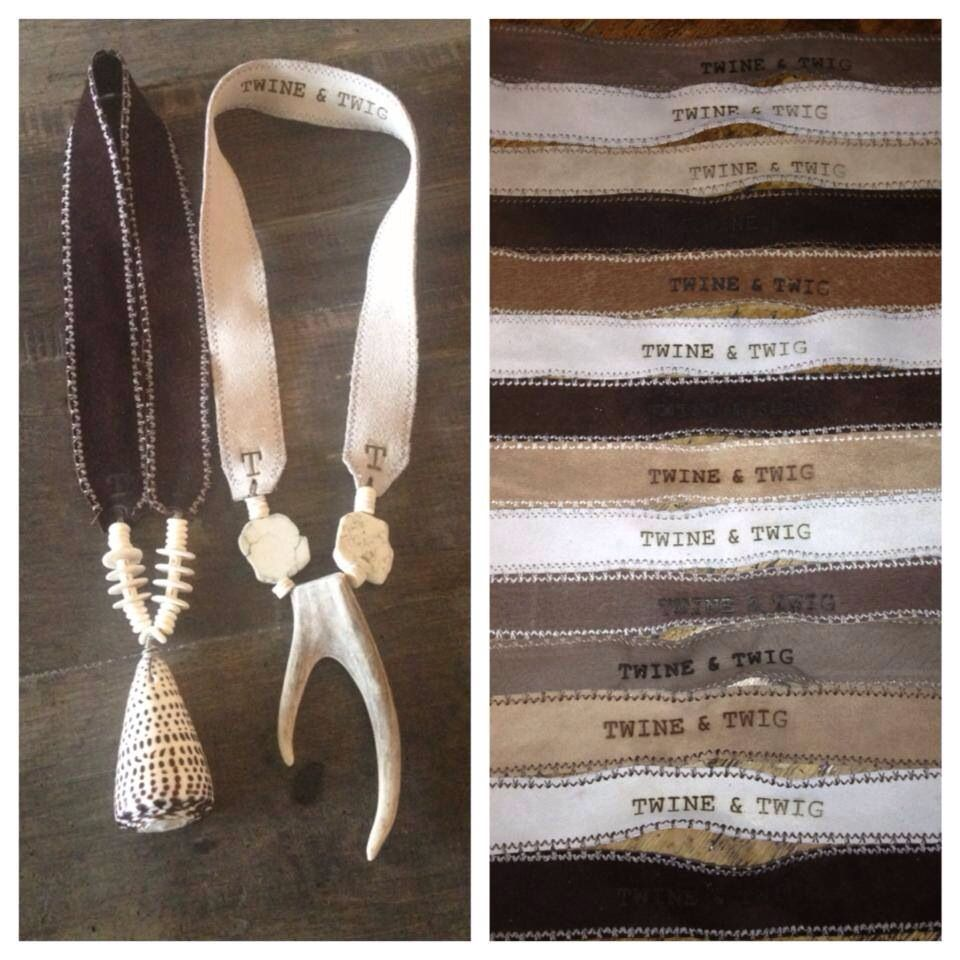 Twine and Twigs signature suede strap twineandtwigstyle ...