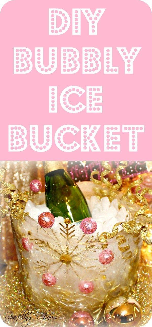 DIY Bubbly Ice Bucket