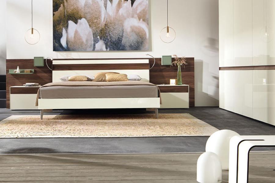 Ledikant lunis hoofdbord a hülsta slaapkamer lunis hout:natuurlijk