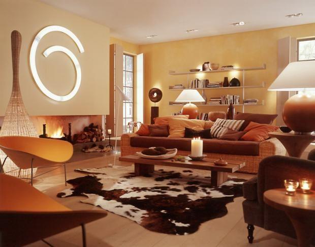 Wandgestaltung für die Küche u2013 Einrichtungslösungen nach jedem - warme farben frs wohnzimmer