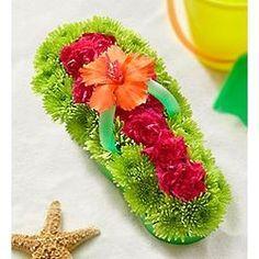 8c267324c169f Flip Flop Floral arrangement