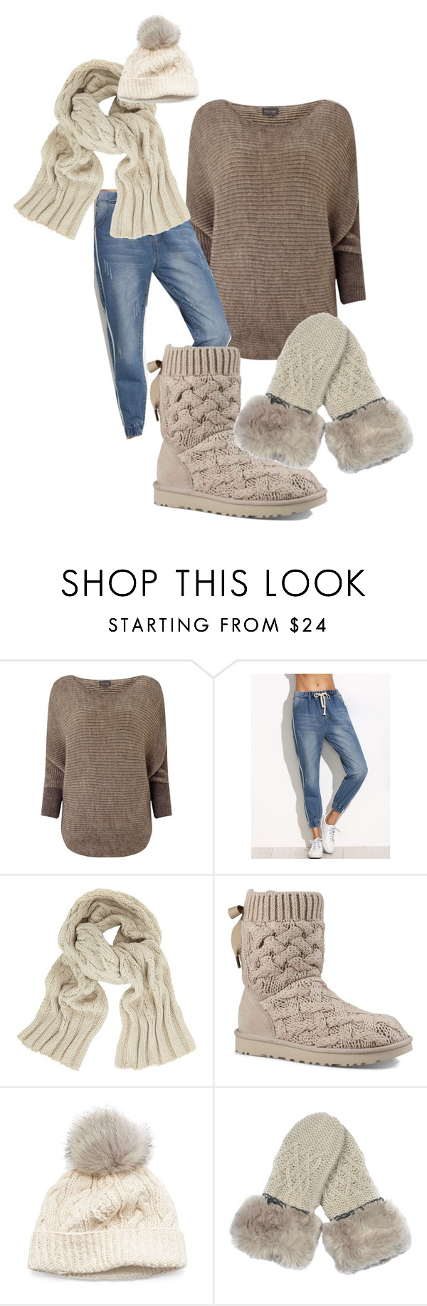 """""""cozy warm outfit with Ugg's"""" by polona-mivsek on Polyvore featuring Phase Eight, John Lewis, UGG and SIJJL"""