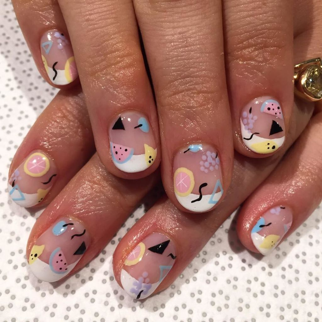 24 New Ways to Wear a French Manicure | Beauty nails, Nail nail and OPI