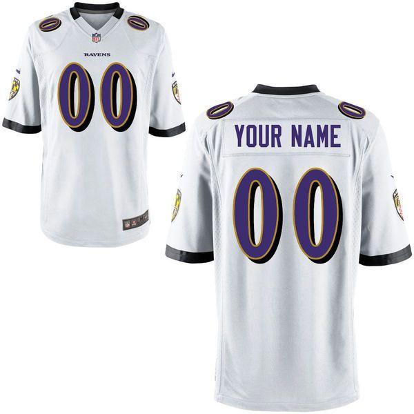 huge selection of fbb33 d1b2d Redskins Kirk Cousins 8 jersey Nike Baltimore Ravens Custom ...