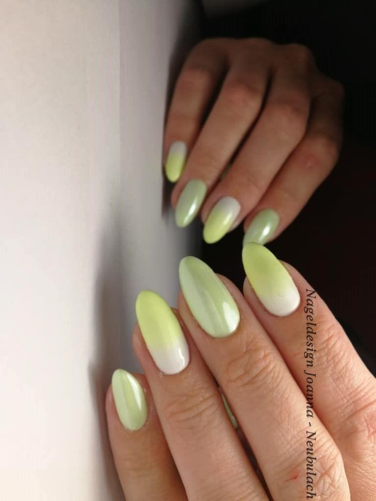 Light Green Nail Art Designs