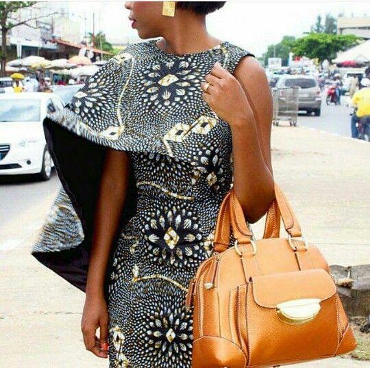 Femme africaine dans toute sa splendeur