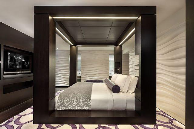 Dormitorios Elegantes Con Bano Integrado Habitaciones De Lujo