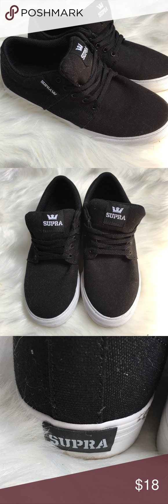 765180f2592e Supra Black Sneakers Your go to basic black sneakers! Comfy