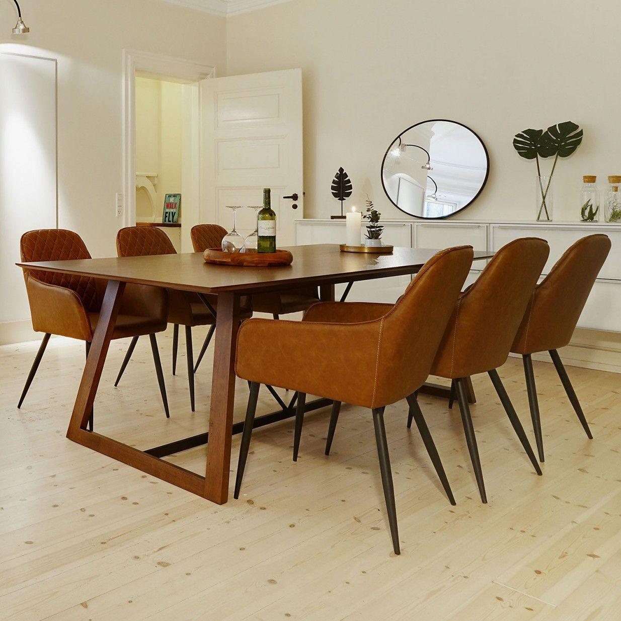 Harbo Stuhl Braun House Nordic Monoqi Sitzgelegenheiten