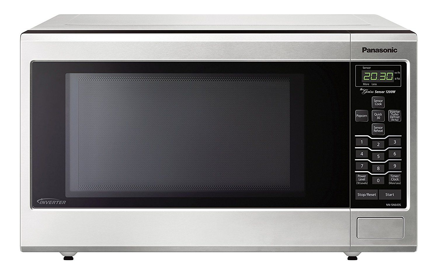 Panasonic Nn Sn643saz Stainless 1 2 Cu Ft Countertop Built In