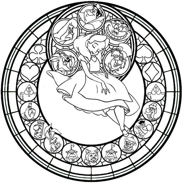 Mandalas Zum Ausdrucken Disney 8