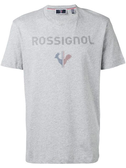 logo print T-shirt - Blue Rossignol Deals Discount The Cheapest Extremely 2018 New Best Prices For Sale PVfUiwTRRJ