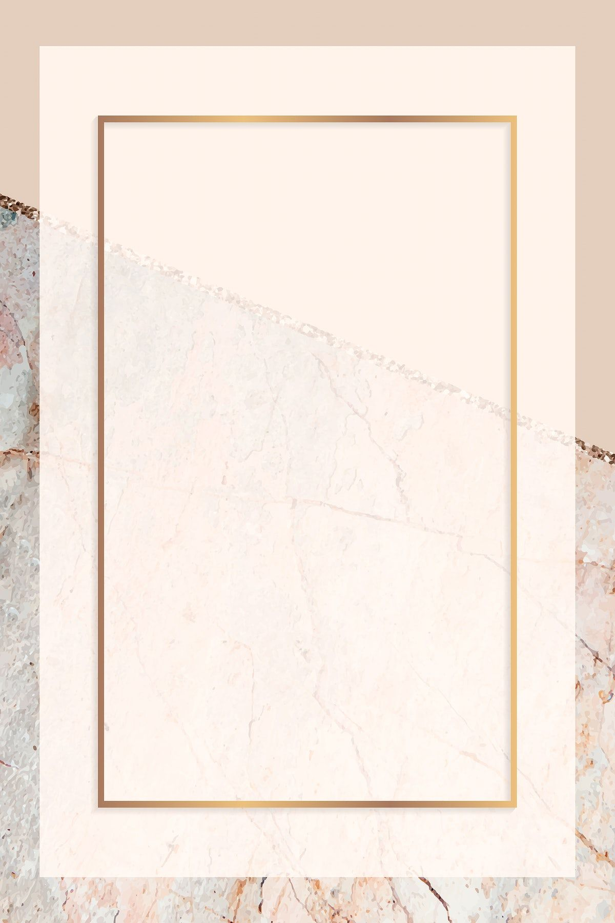 Download premium vector of Rectangle frame on pastel orange marbled background vector by marinemynt about gold marble, wallpaper marble, frame, marble background design, and beige background 1222921