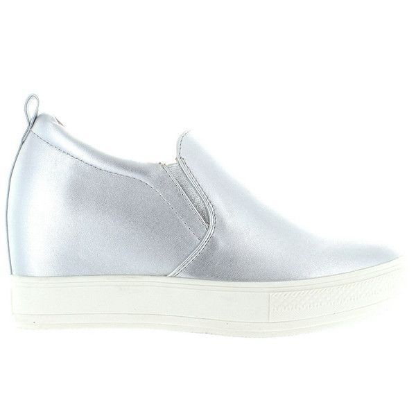 Wanted Pocono Silver Slip On Wedge Sneaker | Slip on