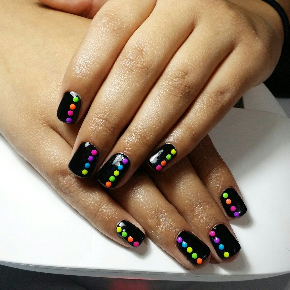 Shellac Black With Images Paznokcie