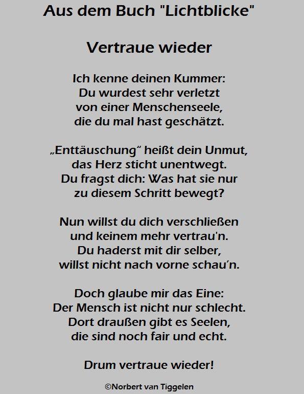 Gedichte Die Uns Ermutigen Wahre Lichtblicke Autor Norbert Van