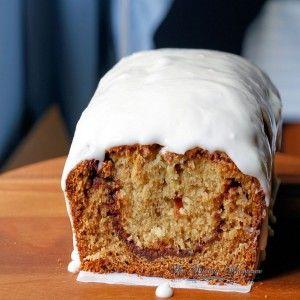 Cinnamon Swirl Buttermilk Bread, sweet bread, quick bread, sunday brunch treats, warm cinnamon bread, epicurious | The Kitchen Whisperer