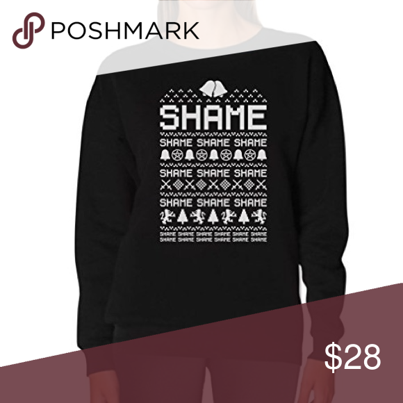 Cersei Walk of SHAME, game of thrones funny sweater