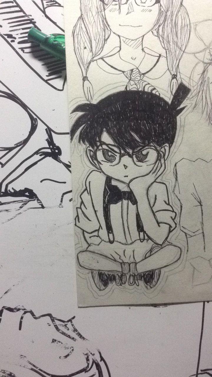 Detective Conan Fan Art Drawn By Madronakingking