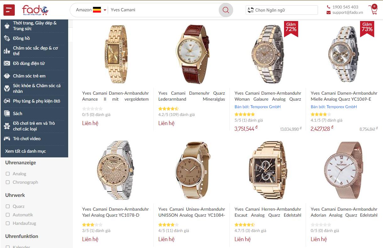 0e9e0c52b42 Đồng hồ Yves Camani của nước nào  giá bao nhiêu  - Đồng Hồ Trên ...