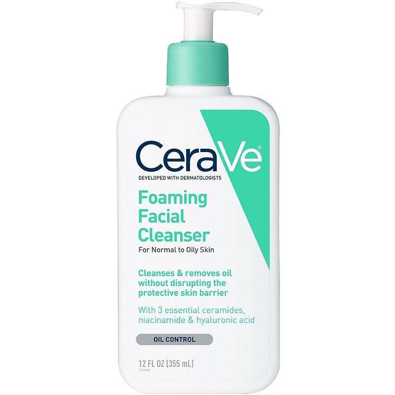 Cerave Foaming Facial Cleanser Ulta Beauty Foaming Facial Cleanser Oily Skin Care Skin Cleanser Products