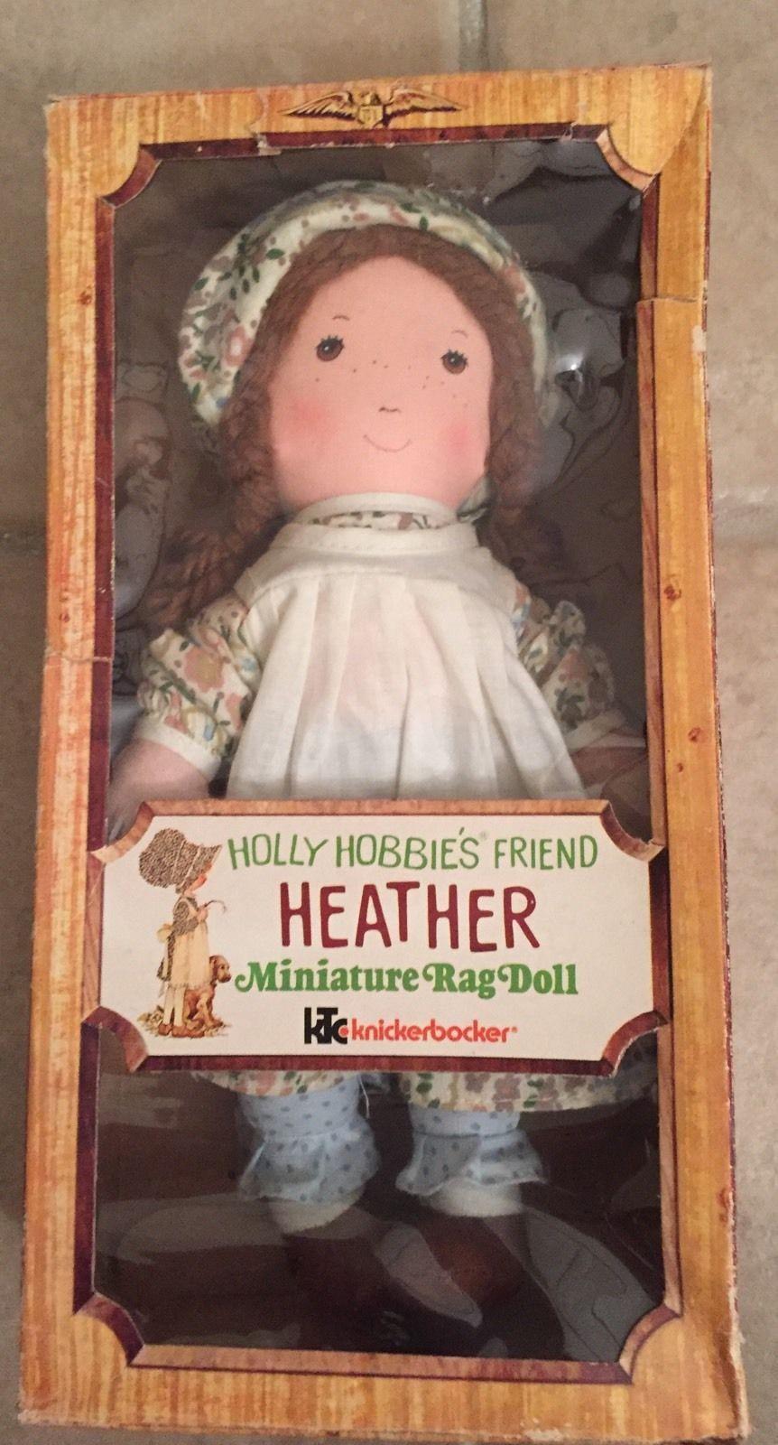 1970s holly hobbies friend heather by knickerbocker miniature 1970s holly hobbies friend heather by knickerbocker miniature rag doll in box ebay reviewsmspy
