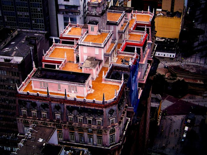 Photos clicked on top of Banespão Building - Martinelli Building
