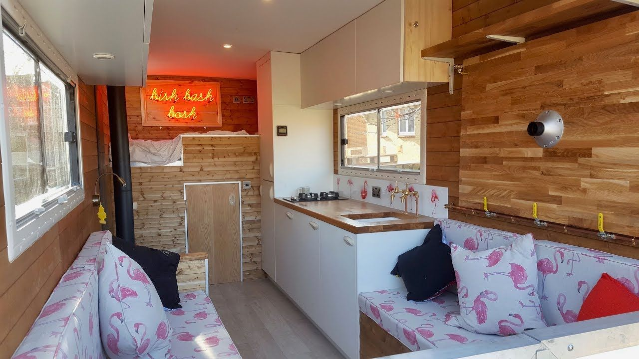 How To Convert A Luton Box Van Into An Off Grid Camper