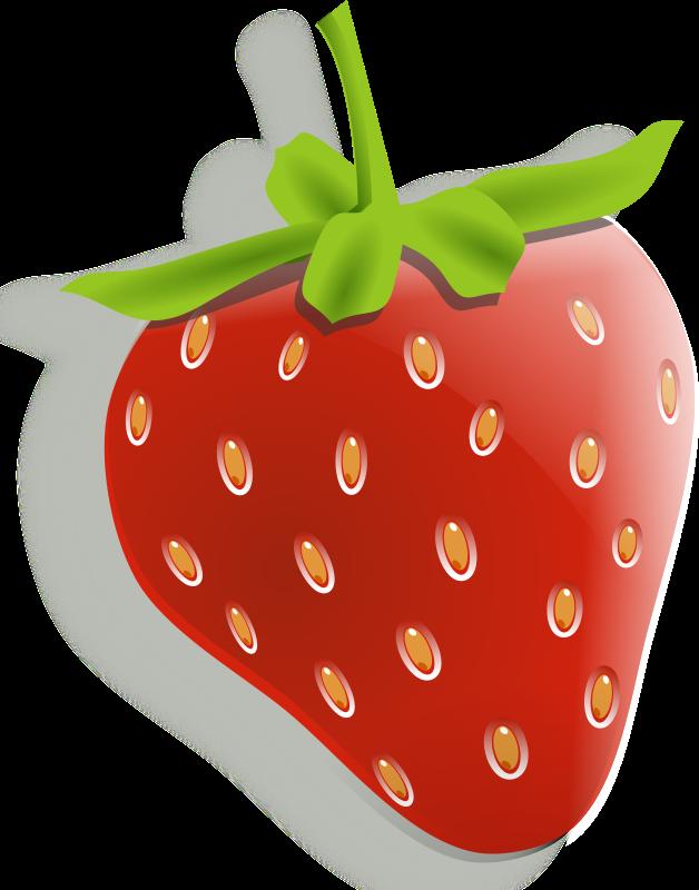 Strawberries, Lemons & Cherries - Fruit Clipart | I want ...