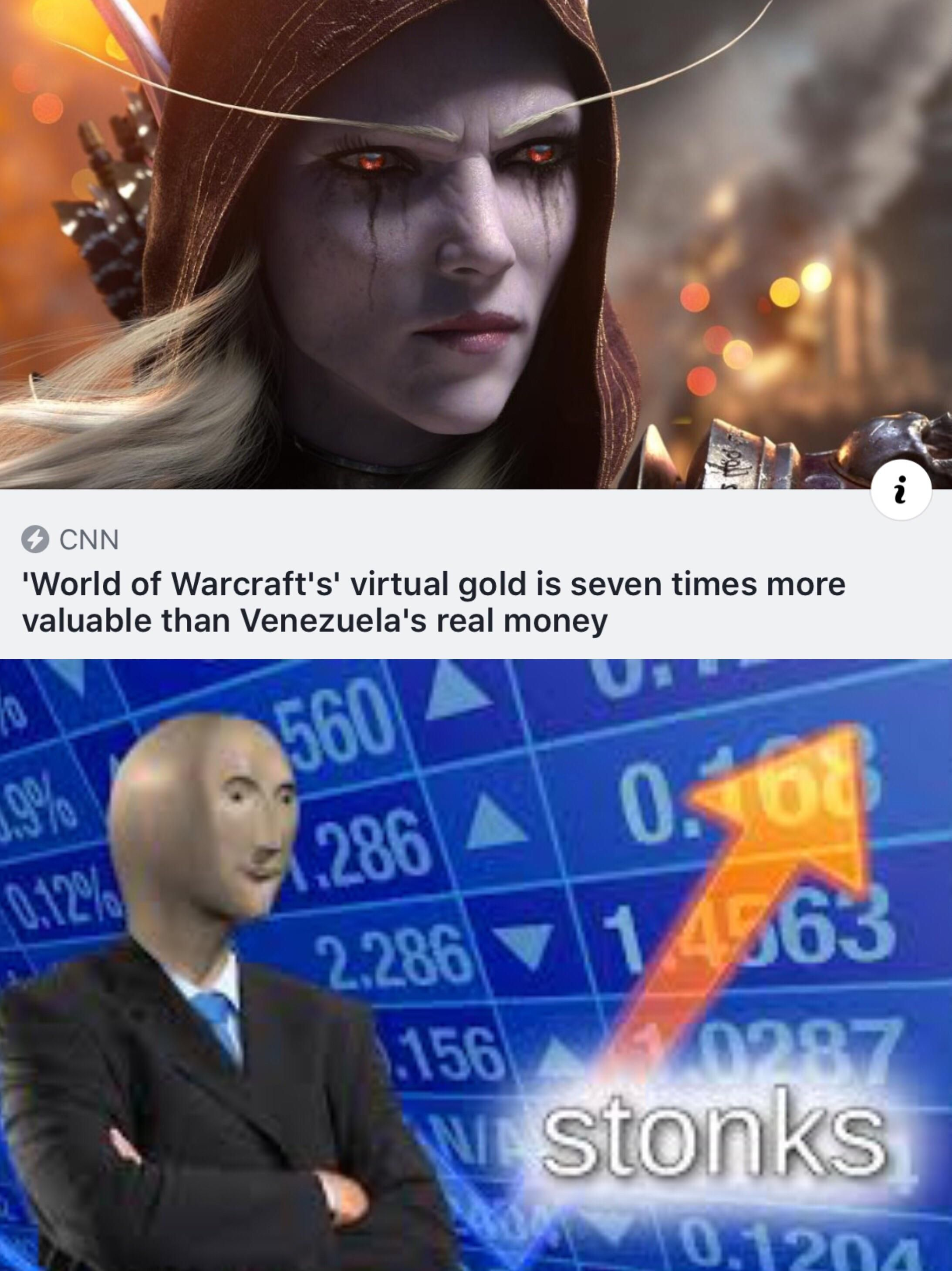 WoW gold > real money news Funny pictures, Memes, Edgy